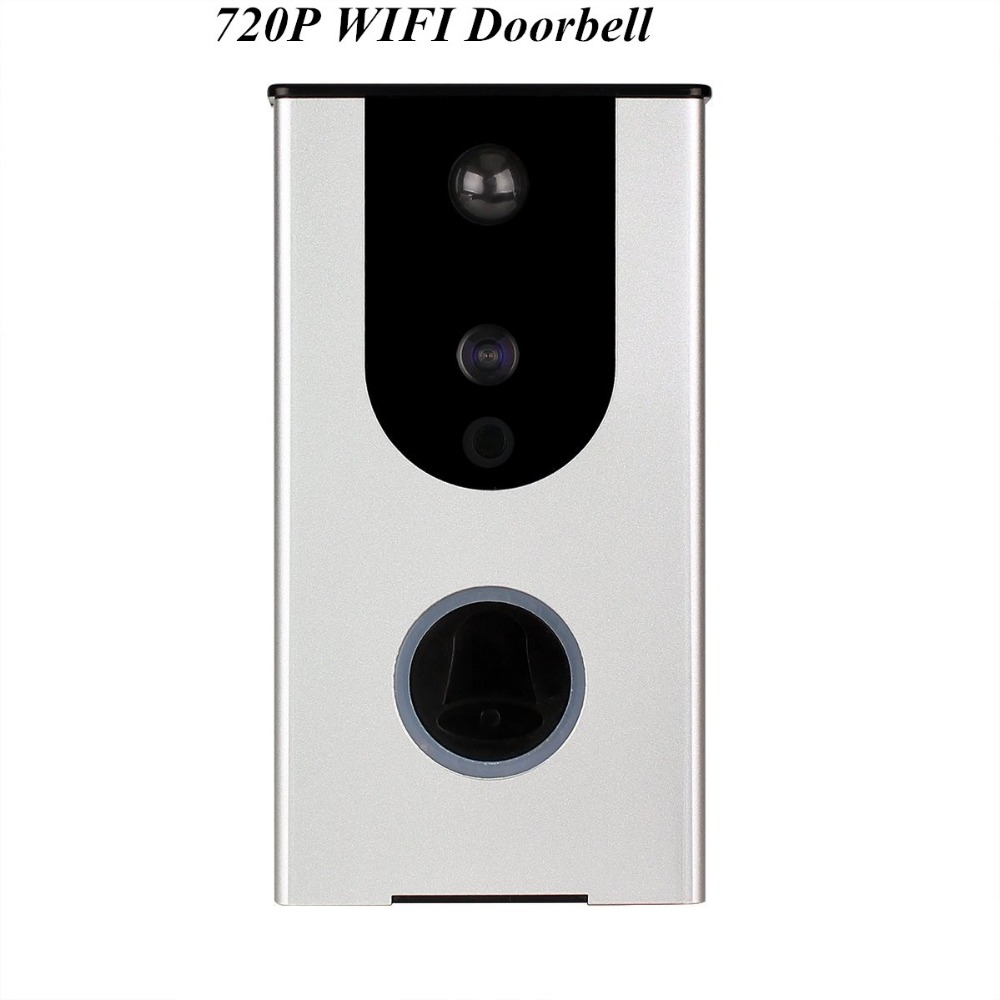 Wireless Intercom 720P WIFI Doorbell Built-in Battery Motion Detection Wireless Intercom 720P WIFI Doorbell Built-in Battery Motion Detection