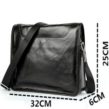 2017 Genuine Leather Men Business Briefcase Laptop bag Casual Messenger Travel Bags Handbags Shoulder Crossbody Bag Male Tote
