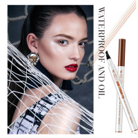 Best Selling 2019 Products Four Heads Eyebrow Pencil Fashion Liquid Forked Eyebrows Lasting Waterproof Eyebrowse Makeup Cosmetic
