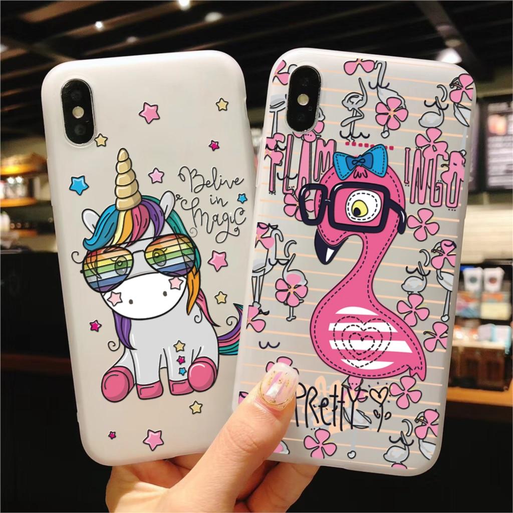 3D Unicorn For Samsung Galaxy S10e A50 A5 A6 A7 A9 J4 J6 Plus 2018 J5 J7 2017 Note 9 8 A30 A40 A70 S7 Edge S8 S9 S10 Plus Case