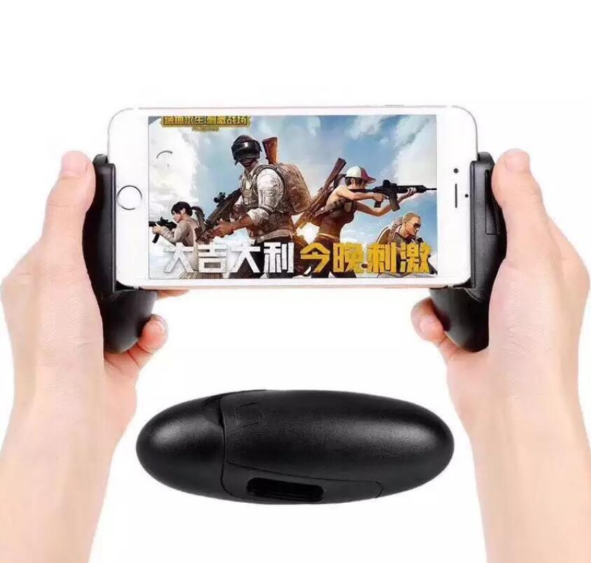 Negro ganso huevo gamepad para el teléfono
