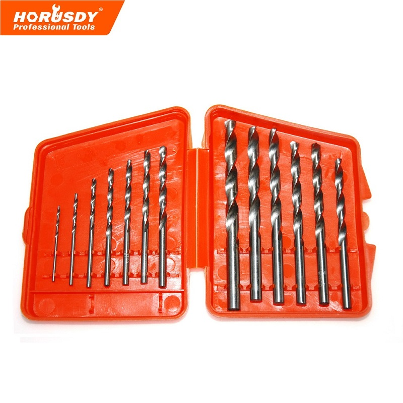 13pcs/lot HSS High Speed Steel Cobalt Drill Bit Set 1.5-6.5mm Twist Drills For Thick Iron And Aluminum 3% Co free shipping of 1pc hss 6542 made cnc full grinded hss taper shank twist drill bit 11 175mm for steel