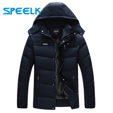 Brand New Down Coat Men Winter Thick Cotton Jacket Mens Fashion Cotton