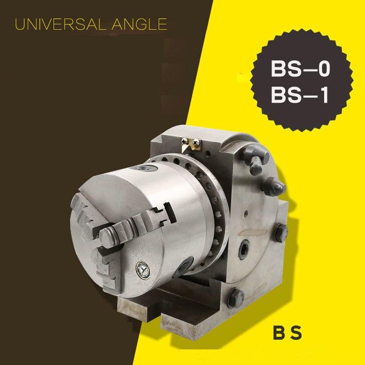 5 дюймов 125 мм BS 0/BS 1 точность фрезерования металла универсальная делительная головка деления пластины легко фрезерные приложение
