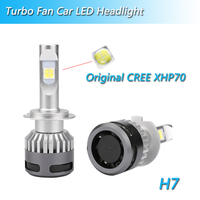 12V 2PCs Mini XHP70 led H7 H4 LED Bulbs Cars Headlight H11 9012 H9 9005 HB3 9006 HB4 110W 13200LM 6000K Auto Headlamp Fog Light