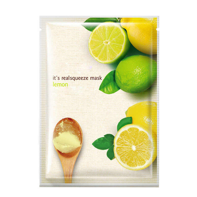 lemon brightening oxygen bubble mask oil control moisturizing whitening face care product face mask facial mask BIOAQUA