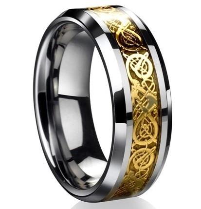 The ring of the nibelungs richard wagner der ring des nibelungen uomini anello di acciaio al titanio gioielli vintage anello di arthur rackham