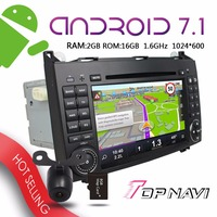 WANUSUAL 7 ''Multi tactile Android 7.1 Voiture GPS pour Benz A-W169 B-W245 Viano Vito Sprinter VW Crafter Auto Bluetooth Joueurs stéréo