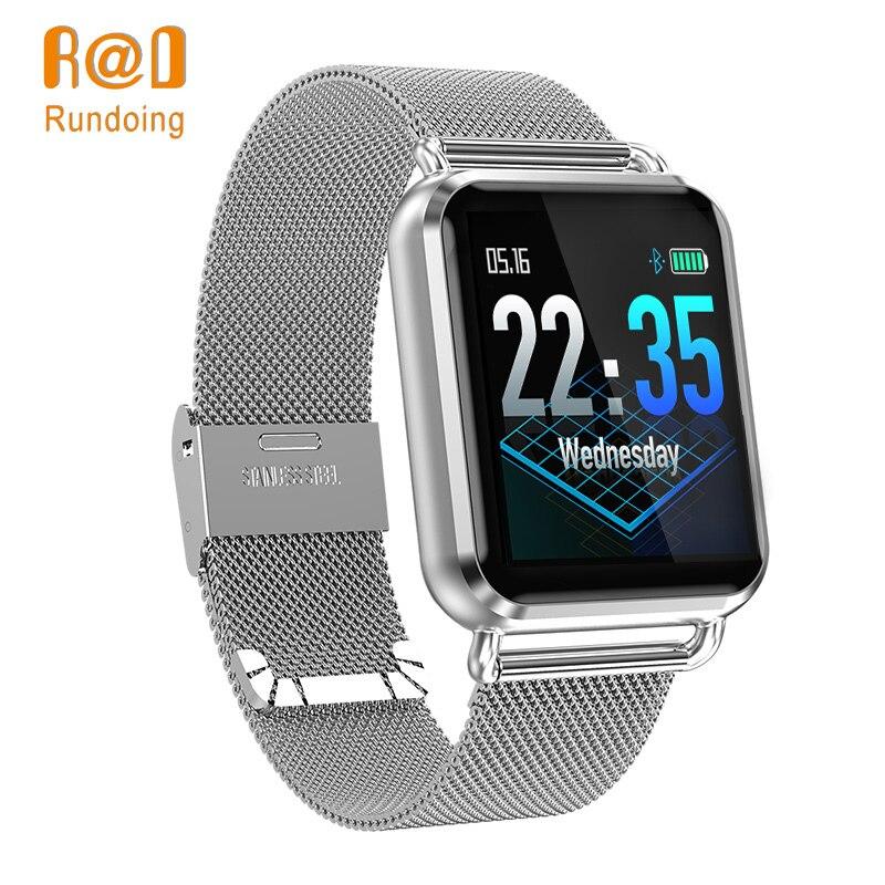 Rundoing Q3 montre Smart watch Hommes étanche Dynamique en Oxygène du Sang Pression Podomètre fitness tracker Coeur Taux smartwatch