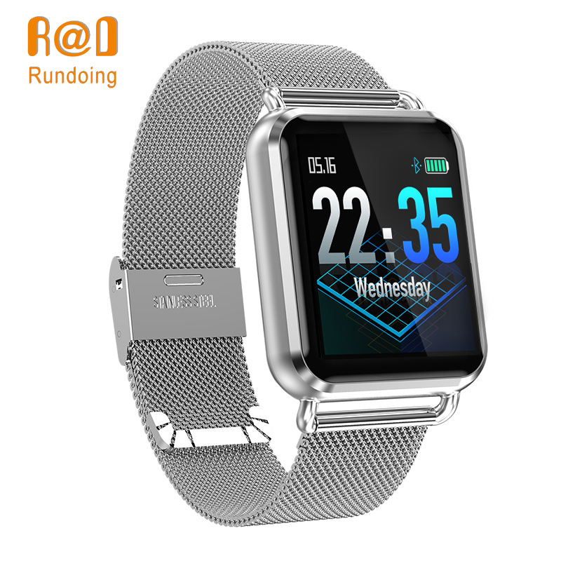 Rundoing Q3 reloj inteligente impermeable dinámico en sangre, presión de oxígeno podómetro fitness tracker de smartwatch