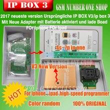 2019 Ipbox IP BOX3 высокая скорость программист для telefon pad harte диск programmers4s 5 5c 5 s 6 6 plus speicher обновления V6.1