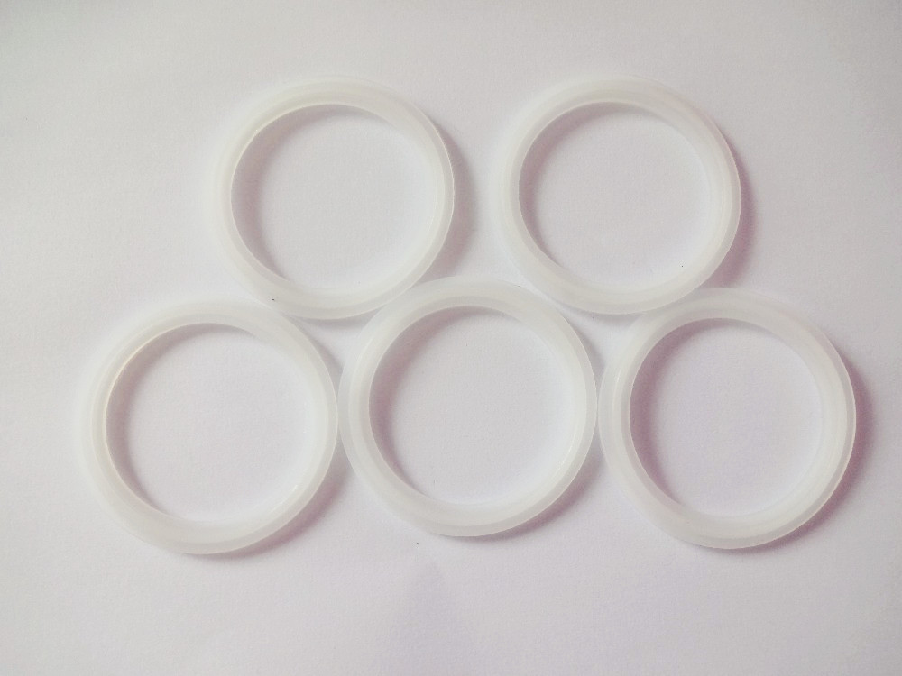 Free Shipping  5pcs  2.5(63mm) Tri Clamp Ferrule Silicone Sealing Strip Gasket Ring Washer For HomebrewFree Shipping  5pcs  2.5(63mm) Tri Clamp Ferrule Silicone Sealing Strip Gasket Ring Washer For Homebrew