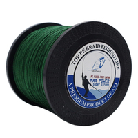 AZJ New Braid Line Top 1000M 8 Strands Super Strong Multifilament PE Braided Fishing Line For