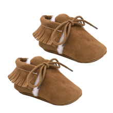 Tassel Newborn Infant Baby Boy Girl Shoes Toddler Baby Soft Soled Moccasins Non-slip Footwear Crib Shoes For Autumn Winter