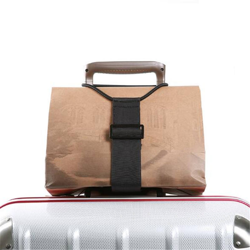 Multifunction Elastic Telescopic Luggage Strap Travel Bag Parts Adjustable Baggage Bungee Luggage Belts Suitcase Fixed Belt