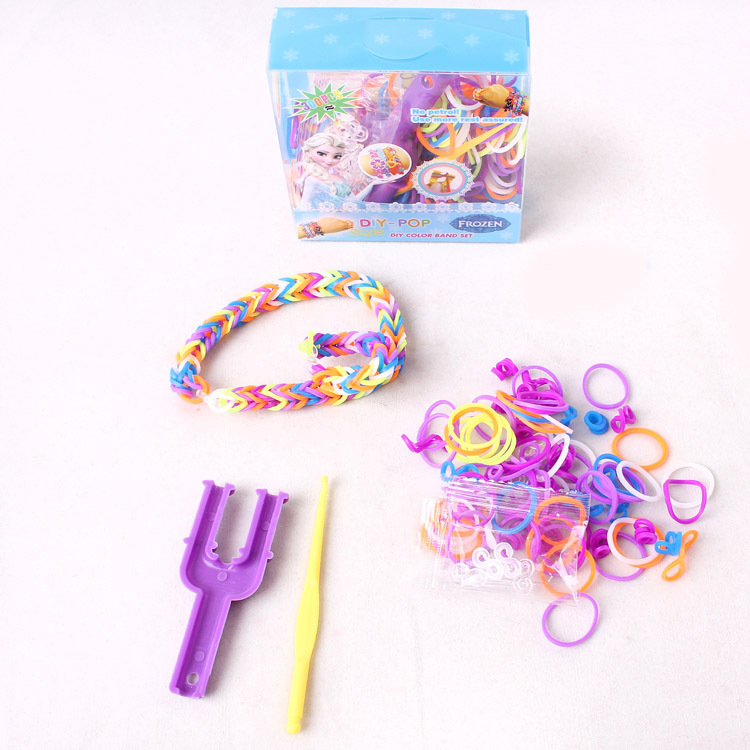 Frozen Diy Color Band Set Fashion Bracelets For S Toy Fun Loom Rubber Bands Whole In Charm From Jewelry