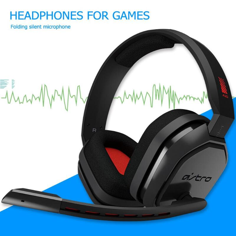 Logitech G ASTRO Headset A10 3.5mm Wired Music Headset Over-Ear Professional Gaming Headphone for PS4 XBOX One Windows10Logitech G ASTRO Headset A10 3.5mm Wired Music Headset Over-Ear Professional Gaming Headphone for PS4 XBOX One Windows10