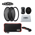 Rangers 8 in1 49- 77mm Ultra Slim UV + CPL + ND8 Camera Filter Kit Pro Set for Canon Nikon Pentax Sony DSLR Camera Lens RA23-30