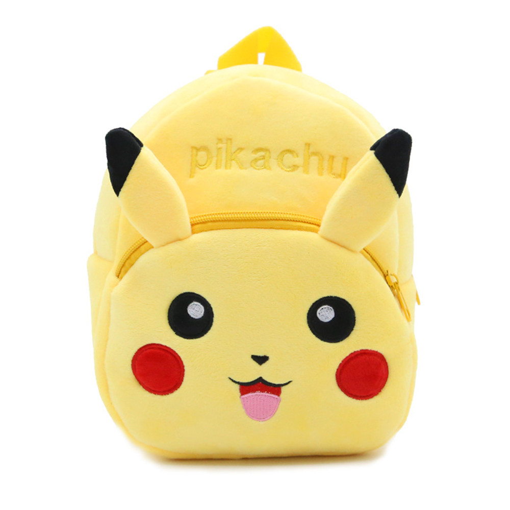 Soft Nap Pikachu Ryggsekk Pokemon Baby Veske Skole Skulderpose Boy Girl Barn Tenåringer Pokemon Pocket Monster Bag BY0060