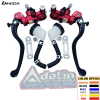 Universal 14mm 16mm 17 5mm 19mm Adelin PX1 Motorcycle Brake Clutch Pump Master Cylinder Lever Handle