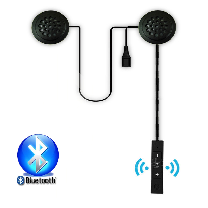 New Motorcycle Bluetooth Helmet Headsets Intercom Bluetooth Anti-interference For Motorcycle Helmet Riding Hands Free Headphone