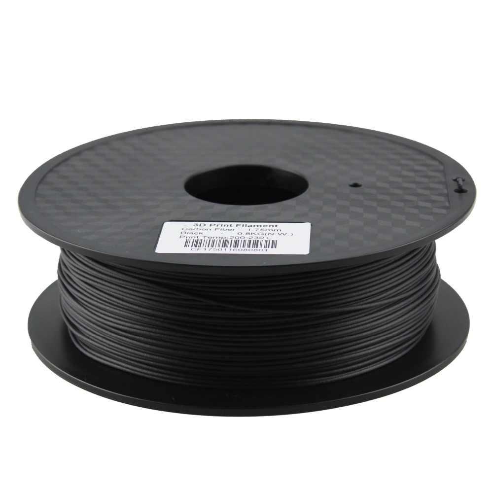 Kinerja Tinggi 1.75 Mm Serat Karbon 3D Printer Filamen Bahan Kualitas Terbaik untuk FDM 3D Printing Berdasarkan PLA