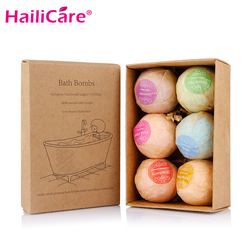 100 sets Organic Bath Bomben Blase Badesalz Ball