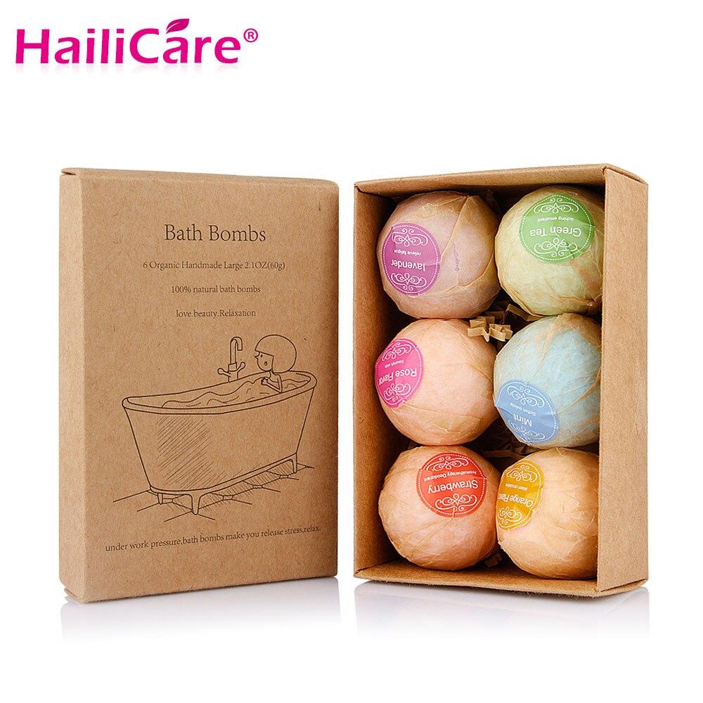 100 Sets Organic Bath Bombs Bubble Bath Salts Ball