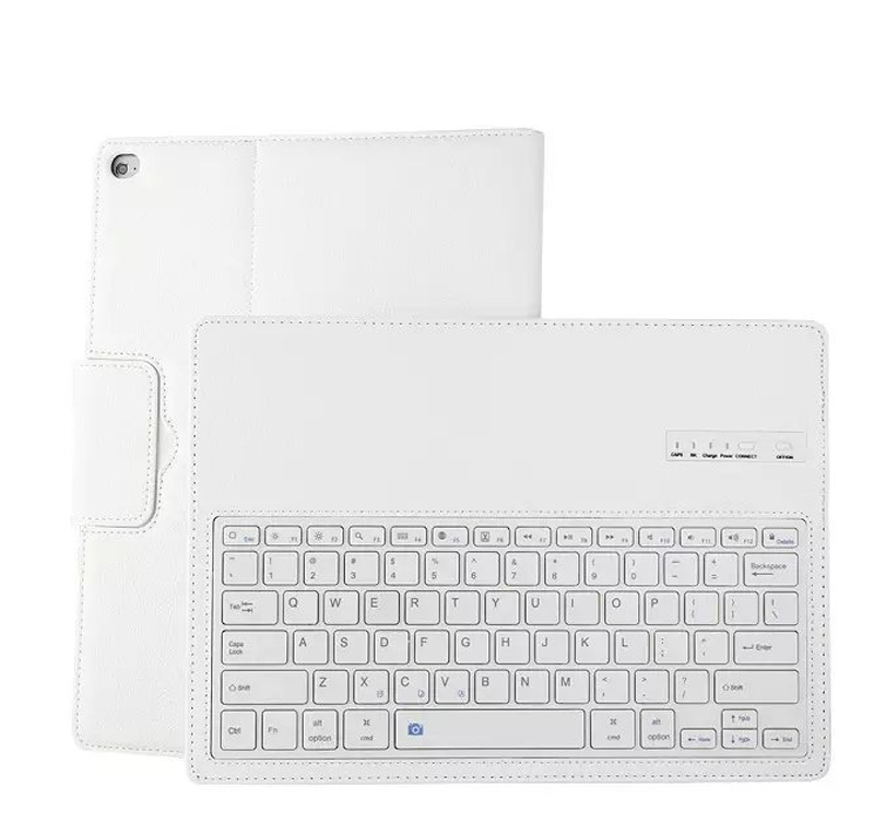 Bluetooth keyboard Case Cover For ipad 2017 2018 ABS split keyboard holster For ipad Air 1 Embossed keyboard For ipad Air 2 bags (8)