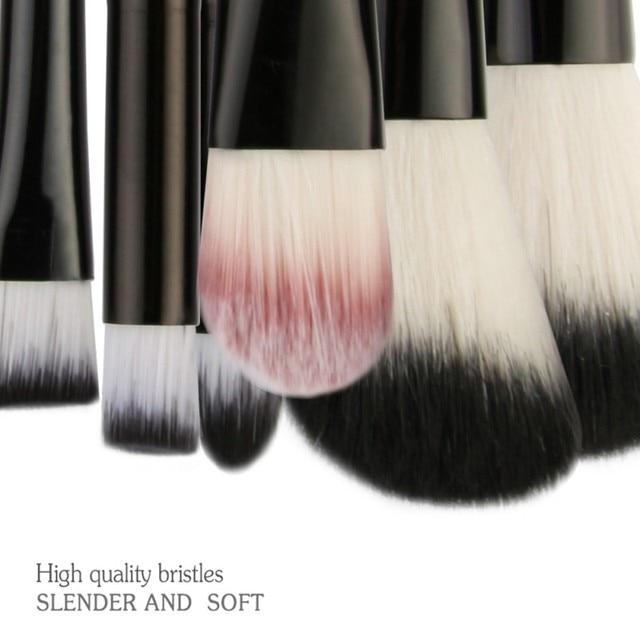 MAANGE 22Pcs Professional Makeup Brushes Set Wood Handle Eyeshadow Eyebrow Eyeliner Powder Smudge Face Cosmetic Beauty Tool Kit 4