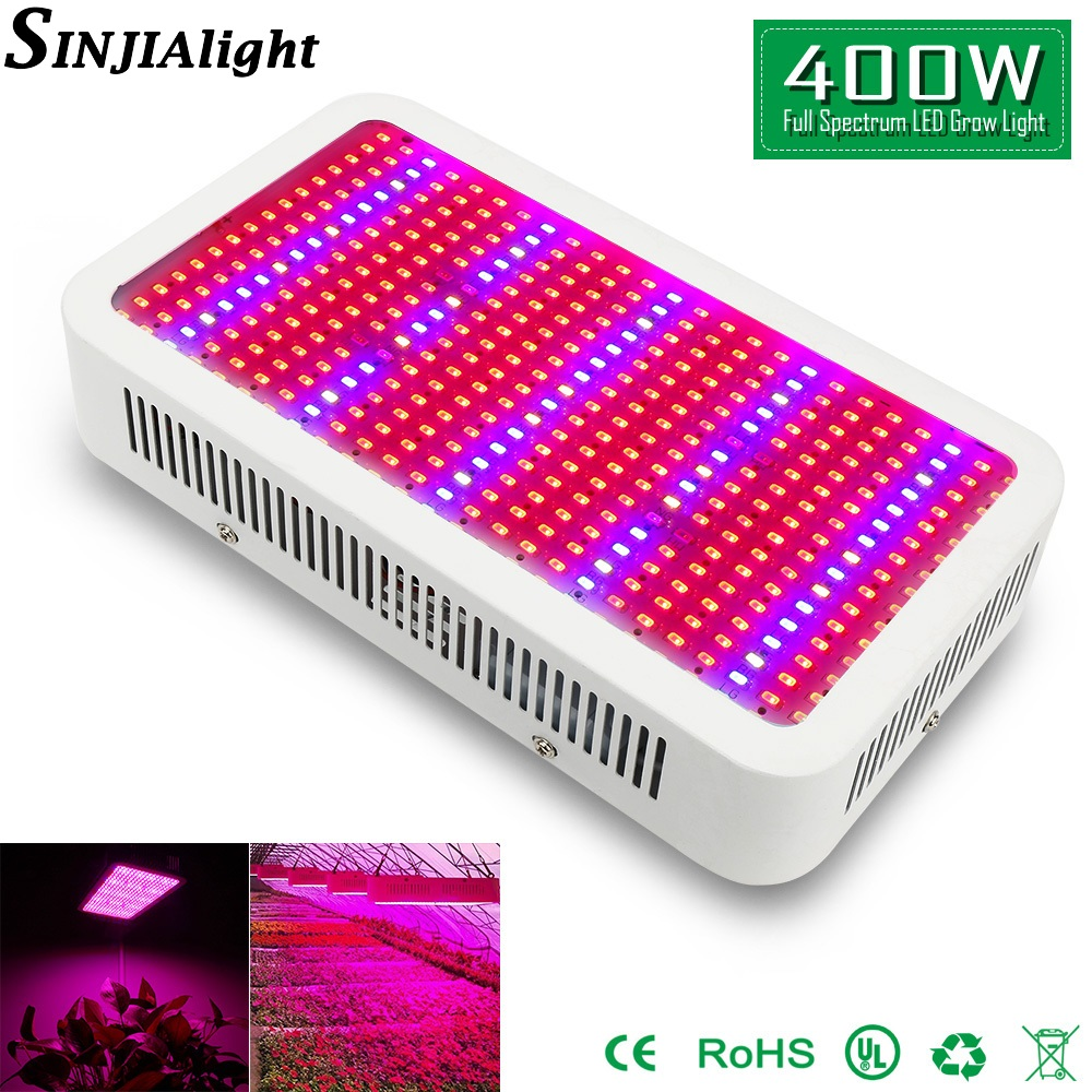400W LED Grow Light Full Spectrum Led Panel plant lights growing lamps for Greenhouse hydroponics grow tent vegetables flowers 2016 new led grow panel 165w led grow light 1131red 234blue led plant lamp for flowers grow box tent greenhouse grows lighting