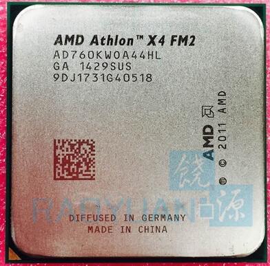 AMD Athlon X4 760K X4 760 X4-760K AD760KWOA44HL Quad-Core FM2 3.8GHz 4MB 100W  Quad-Core CPU Processor Socket FM2