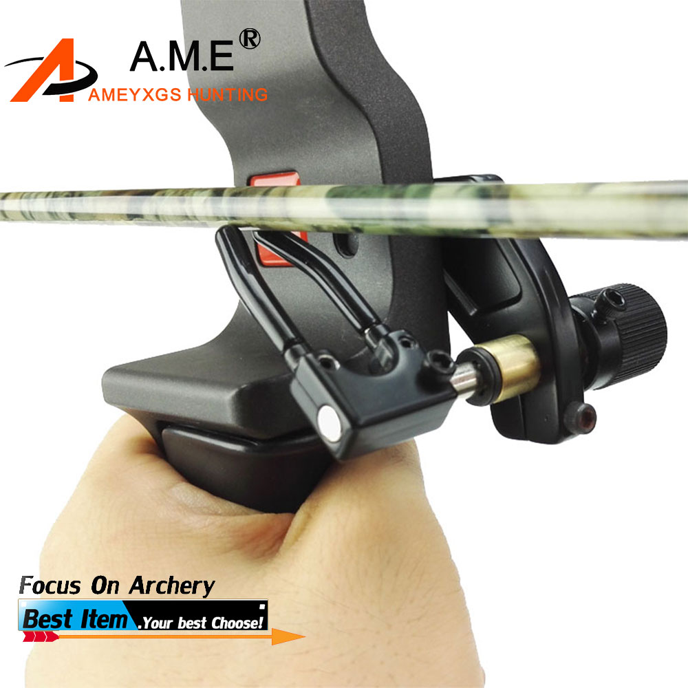 1PC Archery Arrow Rest Compound Bow Tillbehör för RH-typ Återkomma Bow Jakt Right Hand Arrow Shooting