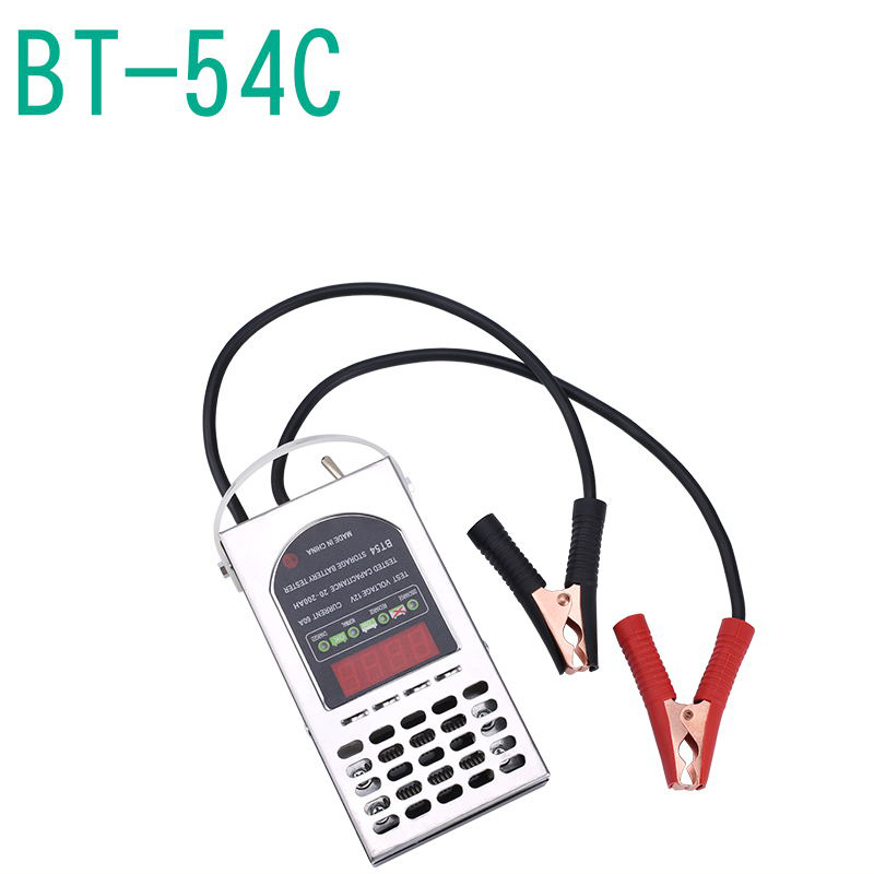 ELECALL Digital Battery Tester BT-54C 12V 60A Automotive/ Car Battery Tester/ Alternator check battery detector bt 168d digital battery capacity tester battery tester check power level for 1 5v to 9v batteries