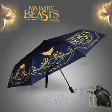 Новые Фантастические звери и где найти их зонтик косплей Аксессуары Опора Тритоны скамандер зонтики