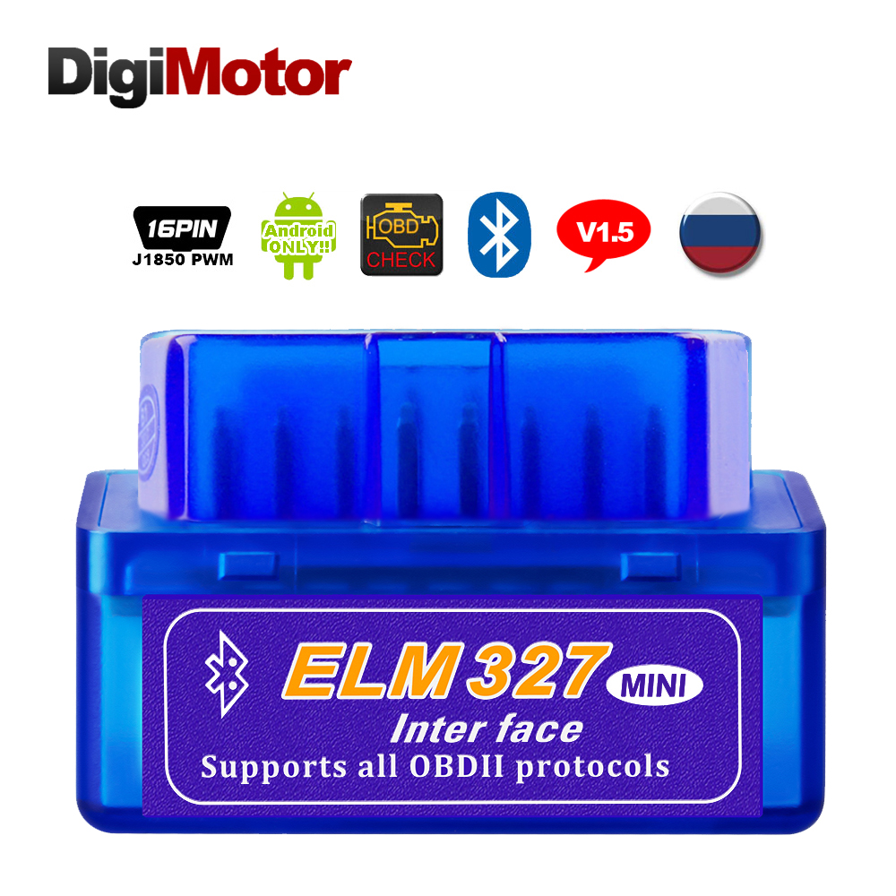 Real ELM327 V1.5  Bluetooth OBD2 Scanner Android Car Diagnostic Tool Automotive OBDII Scaner Better V2.1Real ELM327 V1.5  Bluetooth OBD2 Scanner Android Car Diagnostic Tool Automotive OBDII Scaner Better V2.1