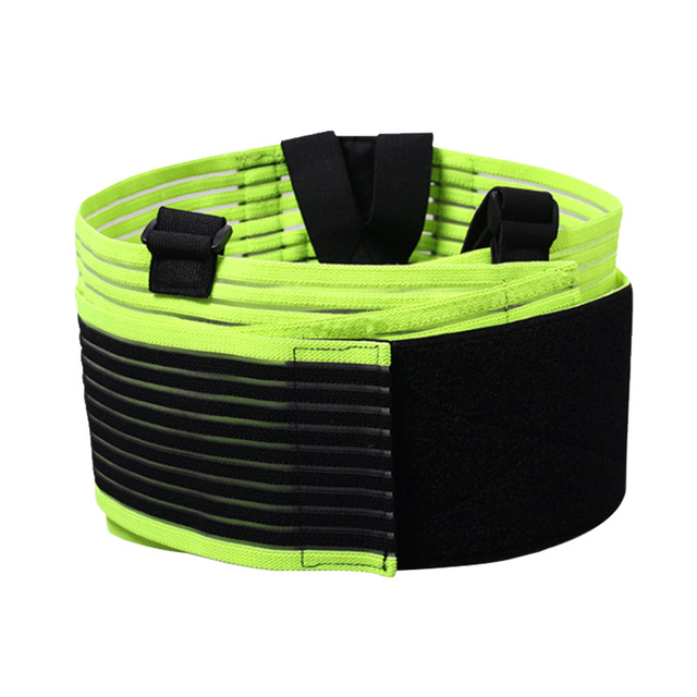 Gym running basketball Fitness belt widened elastic breathable belt to prevent lumbar muscle strain steel belt waist support