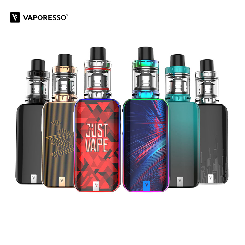 Original 80W Vaporesso LUXE Nano kit Vape With 3.5ml SKRR-S Mini Tank 2500mah Built in Battery Mod vs Vaporesso LUXE E Cigarette