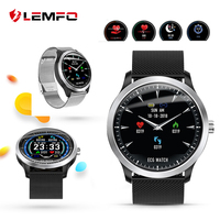 LEMFO N58 ECG PPG Smart watch men with blood pressure monitor heart rate smartwatch Colorful UI Smart band men women 2019 new