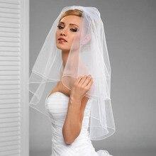Эвакуаторы accessoire краю слои mariage фата лицо карандаш свадебные с