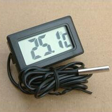 Mini home outdoor electronic thermometer, aquarium refrigerator thermometer, free shipping