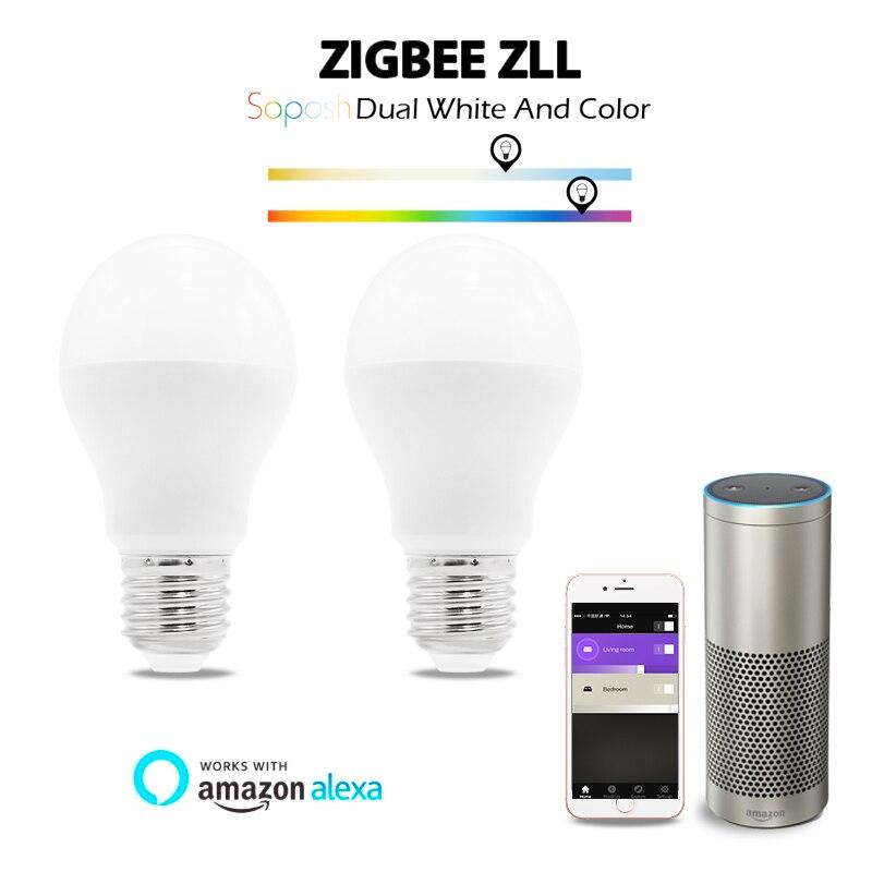 Gledopto Zigbee 3.0 6w Rgb+Dual White Led Bulb Zigbee Zll Lingt Link Smart Bulb Compatible With Zigbee 3.0 And Many Gateways