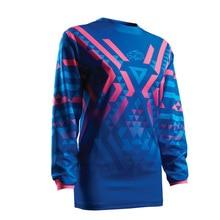 цена на new shirt women cycling jersey ciclismo 2017 Racmmer Mtb Bicycle Clothing Bike Clothes long Maillot Roupa Ropa De H