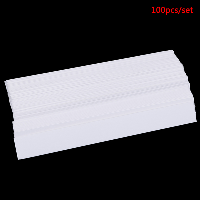 100pcs 130x15mm Aromatherapy Fragrance Perfume Essential Oils Test Tester Paper Strips Testing Strip Fragrance