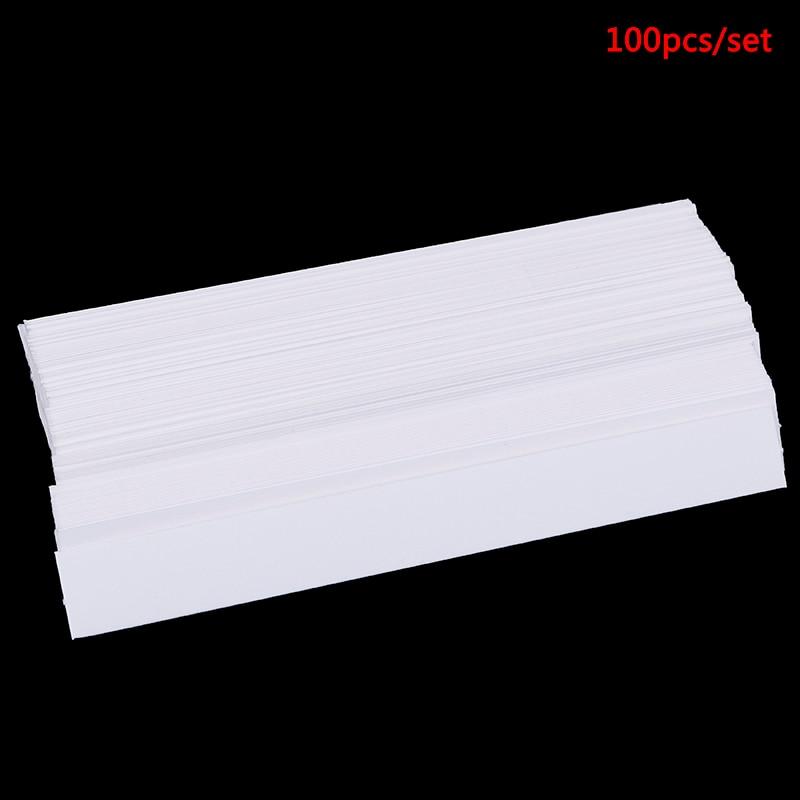 100 stücke 130x15mm Aromatherapie Duft Parfüm Ätherische Öle Test Tester Papier Streifen Prüfung Streifen Duft
