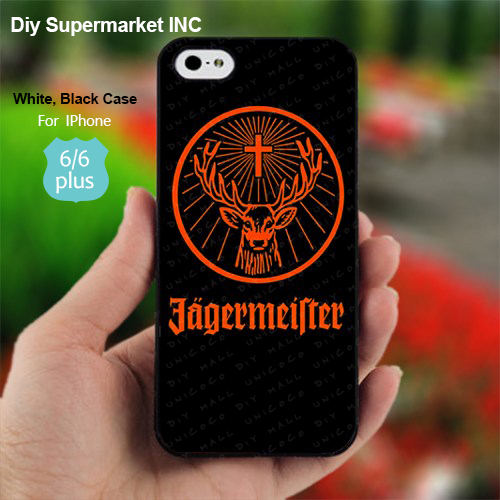 Art design Jagermeister Logo Beer Case For 1pc Samsung Mini Note 2 3 4 Galaxy S3 4 5 6 IPhone 4 4s 5 5s 5C 6 Plus ipod touch 4 5
