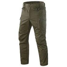 Новые мужские камуфляжные брюки карго с несколькими карманами повседневные рабочие брюки BN99