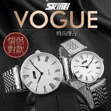 Skmei 9105 лучшая цена нержавеющей стали сплава металла часы женский часы
