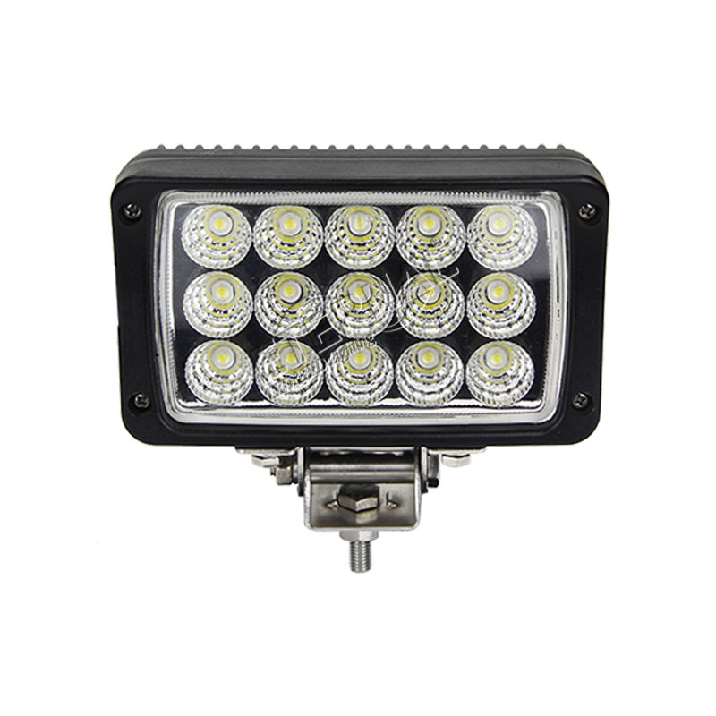 12pcs 45W 4x6 led work lamp for tractor mine truck trailer agriculture construction HINO RENAULT Caterpillar Case ERF equipment in Car Light Assembly from Automobiles Motorcycles