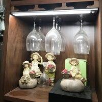 23/40/60CM LED Under Cabinet Light PIR Motion Sensor Lamp USB Rechargeable Bedroom Wardrobe Cupboard Closet Kitchen night light